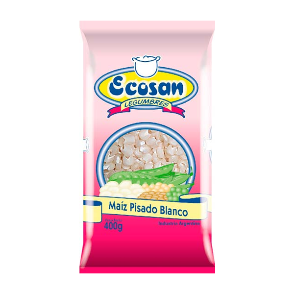 MAIZ ECOSAN QUEBRADO BLANCO 400GR
