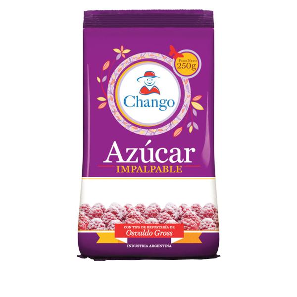 AZUCAR CHANGO IMPALPABLE 250GR