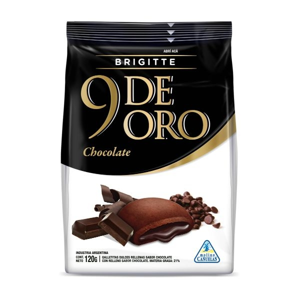 GALL 9 DE ORO BRIGITTE CHOCOLATE 120GR
