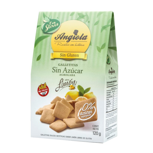 GALL ANGIOLA LIMON S/AZUCAR 120GR