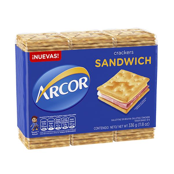 GALL ARCOR SANDWICH 336GR