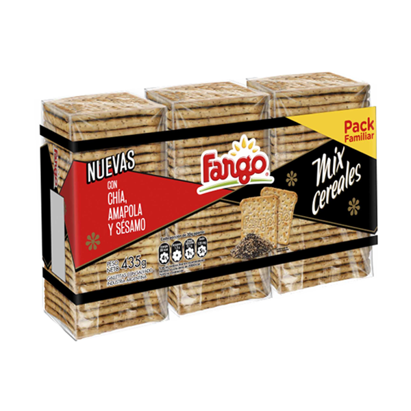 GALL FARGO MIX CEREAL 435GR