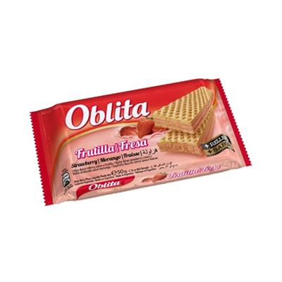 GALL OBLITA OBLEA FRUTILLA 4U 50GR