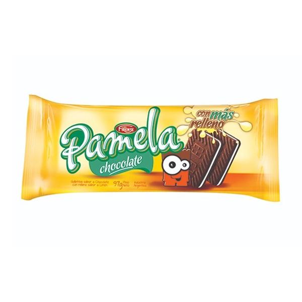 GALL PAMELA RELLENAS CHOCOLATE 97GR