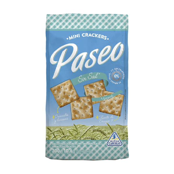 GALL PASEO MINI CRACKERS SIN SAL 300GR