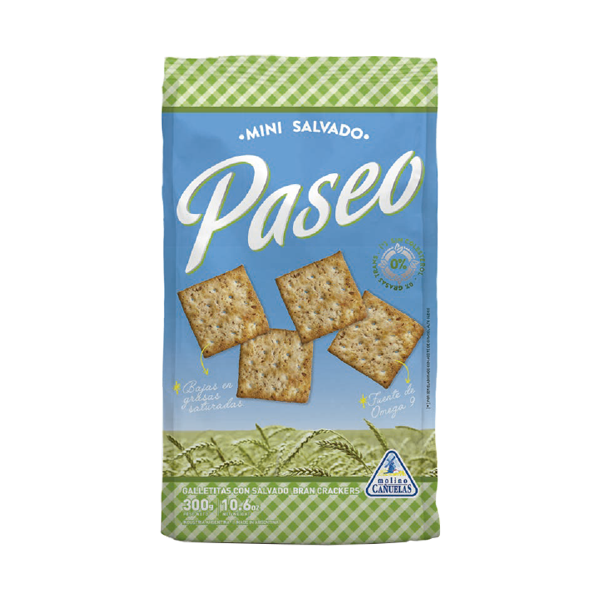 GALL PASEO CRACKERS SALVADO 300GR