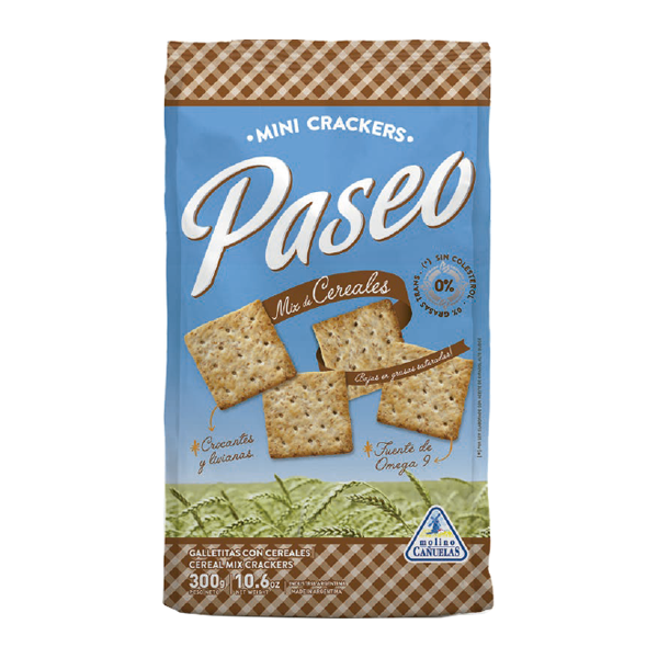 GALL PASEO CRACKERS MIX CEREALES 300GR