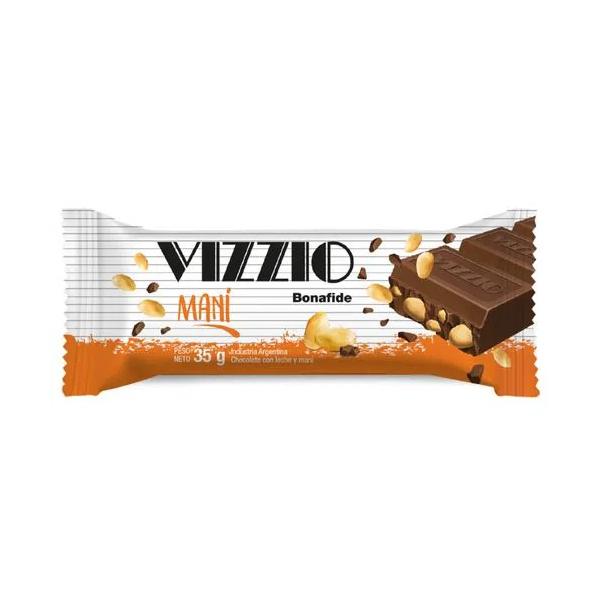 CHOCOLATE VIZZIO C/MANI 35GR