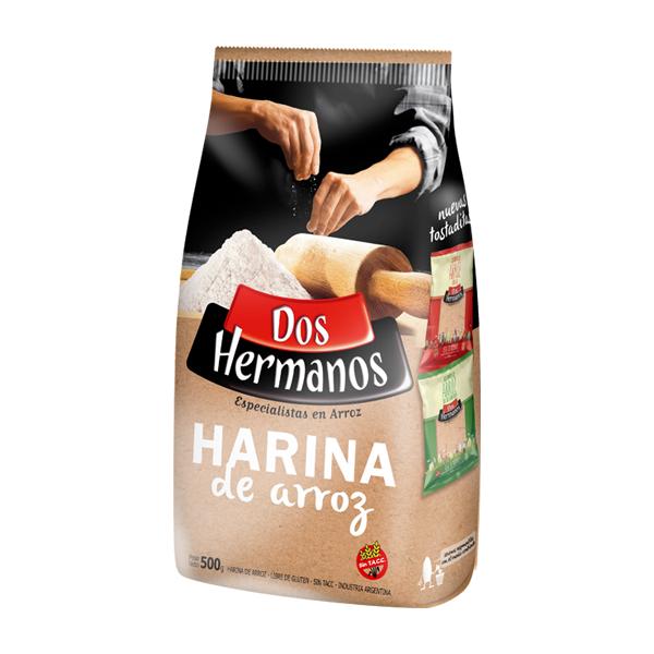 HARINA DOS HERMANOS ARROZ 500GR