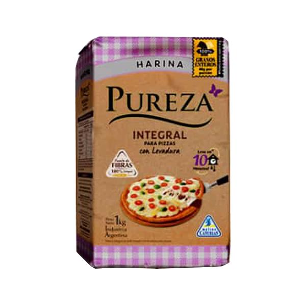 HARINA PUREZA INTEGRAL C/LEVADURA 1KG