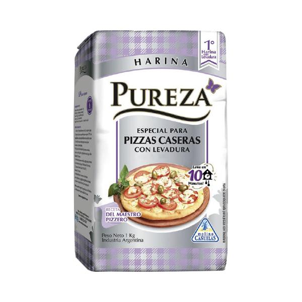 HARINA PUREZA C/LEVADURA ESP PIZZA 1KG