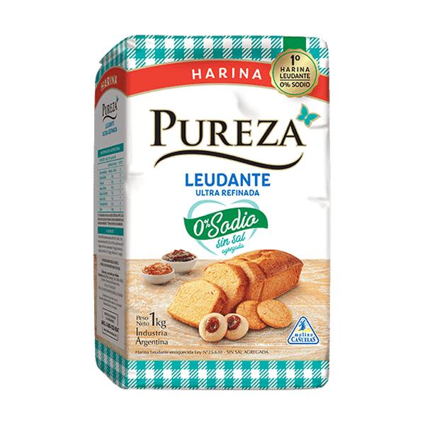 HARINA PUREZA LEUDANTE SIN SODIO 1KG