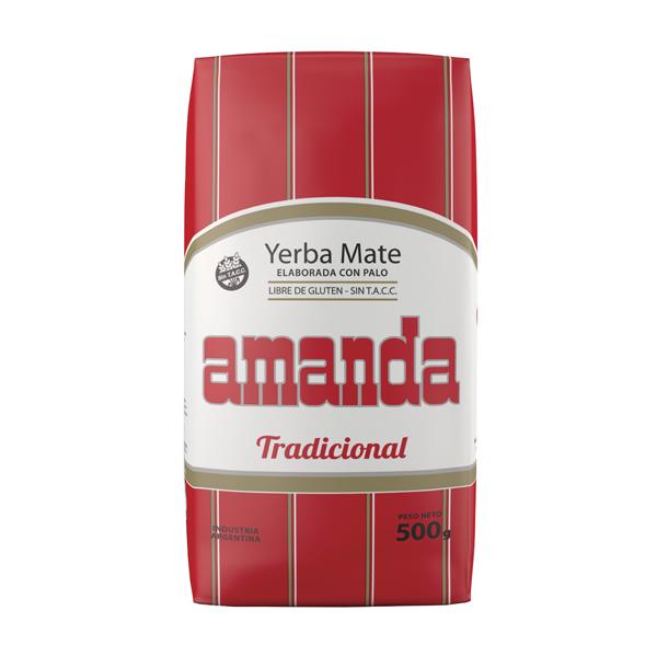 YERBA AMANDA TRADICIONAL 500GR