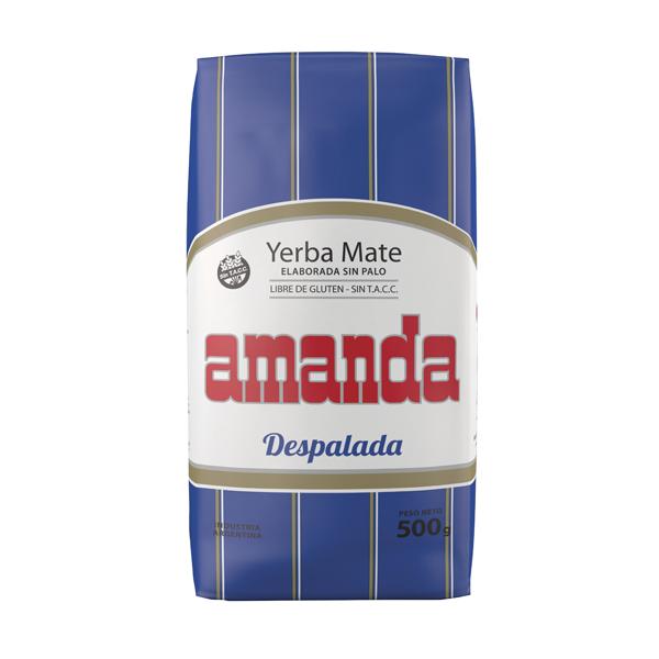 YERBA AMANDA DESPALADA 500GR