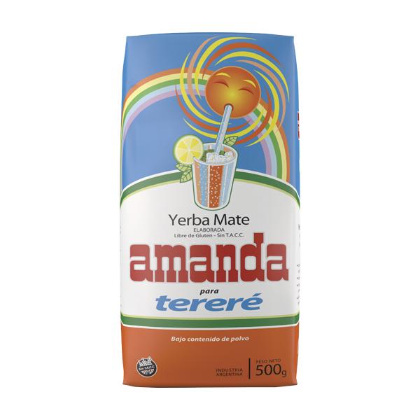 YERBA AMANDA TERERE 500GR