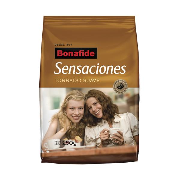 CAFE BONAFIDE SENSACIONES SUAVE 250GR