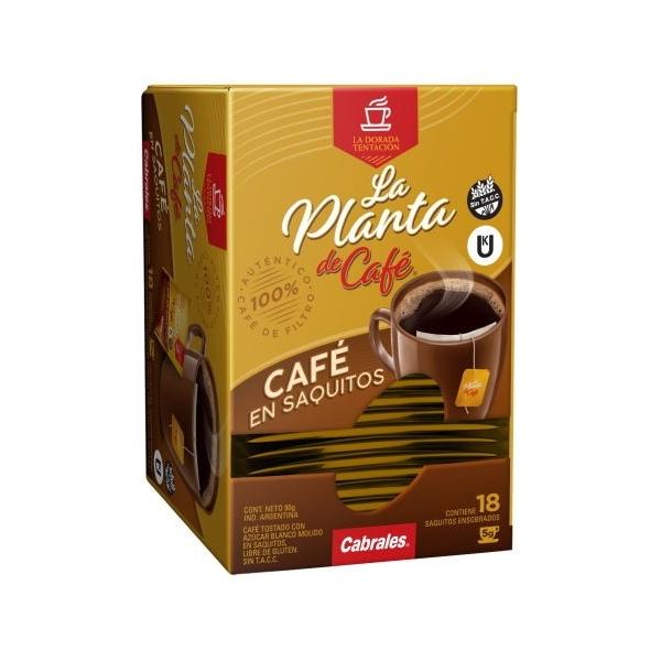CAFE LA PLANTA CABRALES 18 SAQ 5GR