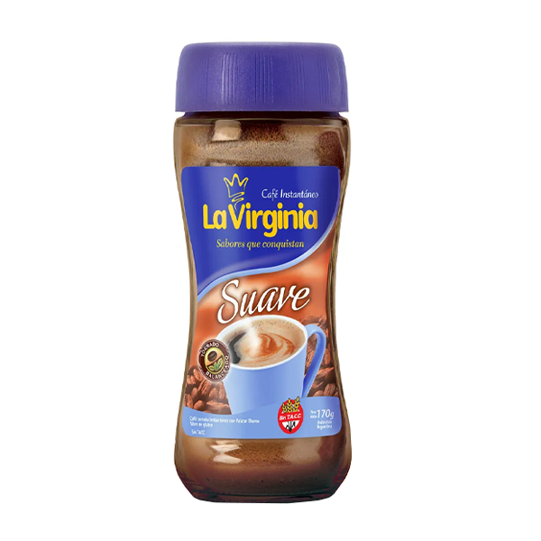 CAFE LA VIRGINIA INST SUAVE 170GR