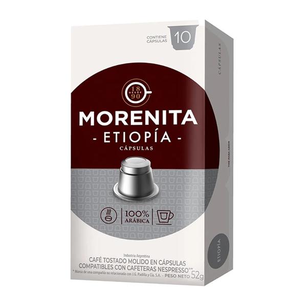 CAPSULAS MORENITA ETIOPIA 5.2GR 10U