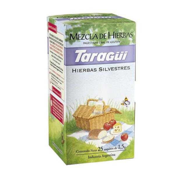 TE TARAGUI HIERBAS SIL MEZCLA DIG 25 SAQ