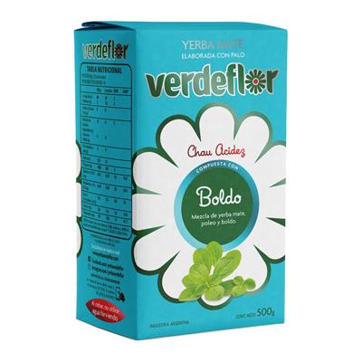 YERBA VERDEFLOR BOLDO 500GR