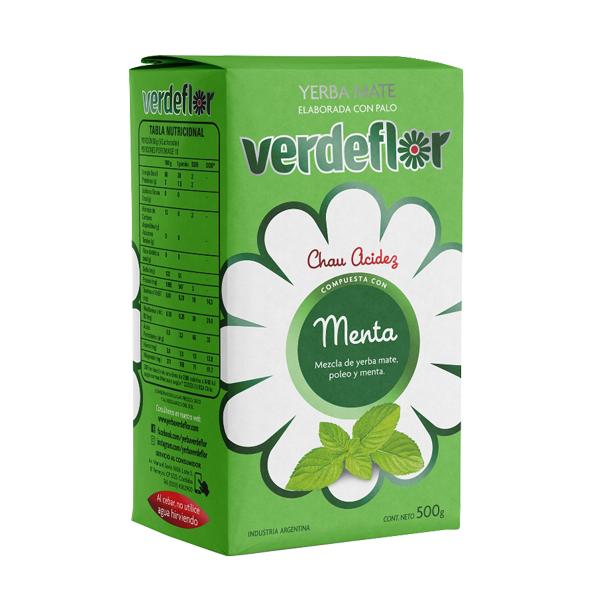 YERBA VERDEFLOR MENTA 500GR