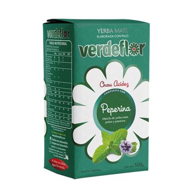 YERBA VERDEFLOR PEPERINA 500GR