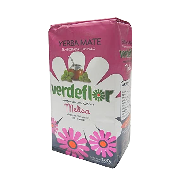 YERBA VERDEFLOR MELISA 500GR
