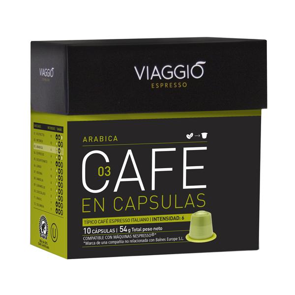 CAPSULAS VIAGGIO 3-ARABICA 54GR