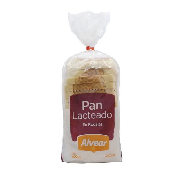 PAN ALVEAR LACTAL BLANCO 400GR
