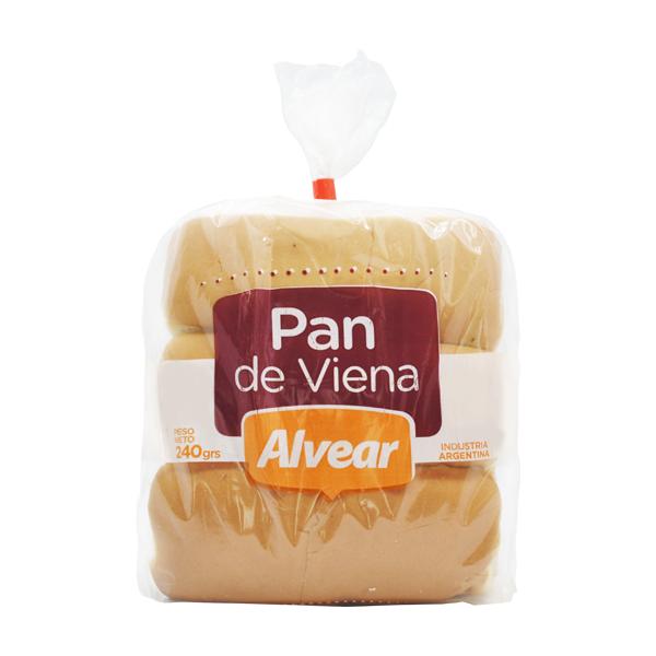 PAN ALVEAR VIENA 240GR 6U