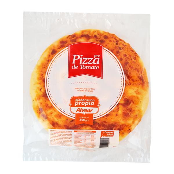 PIZZA ALVEAR TOMATE 350GR