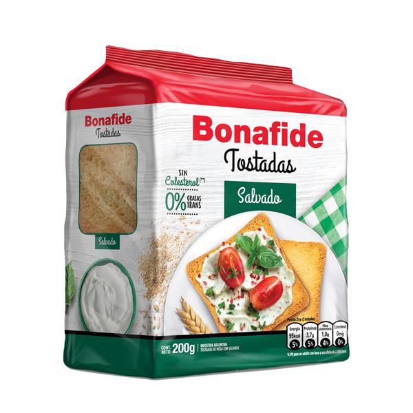 TOSTADAS BONAFIDE SALVADO 200GR