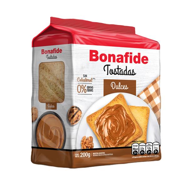 TOSTADAS BONAFIDE DULCE 200GR