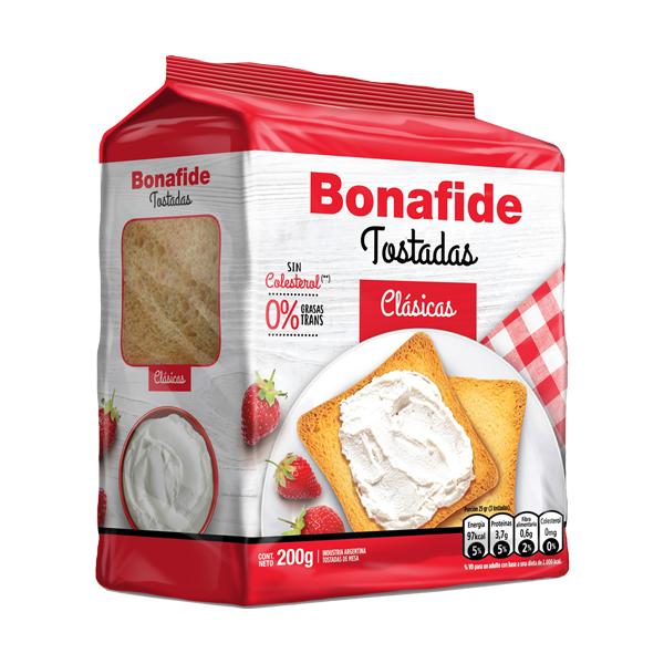 TOSTADAS BONAFIDE CLASICA 200GR