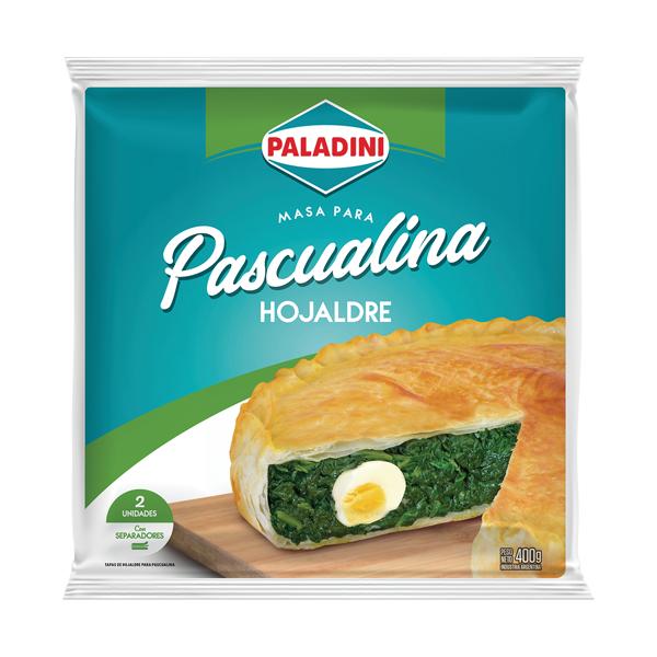 TAPAS PASCUALINA PALADINI HOJALDRE 400GR