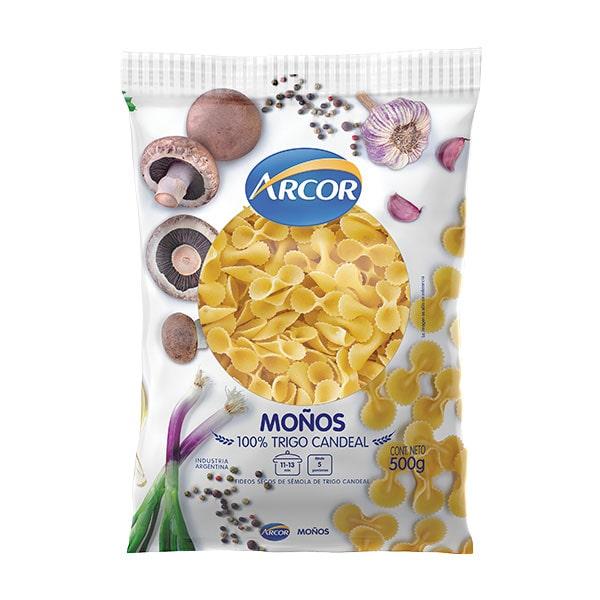FIDEOS ARCOR MOÑOS 500GR