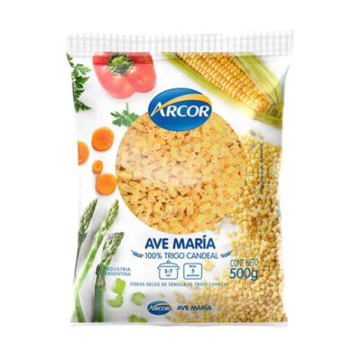 FIDEOS ARCOR AVE MARIA 500GR