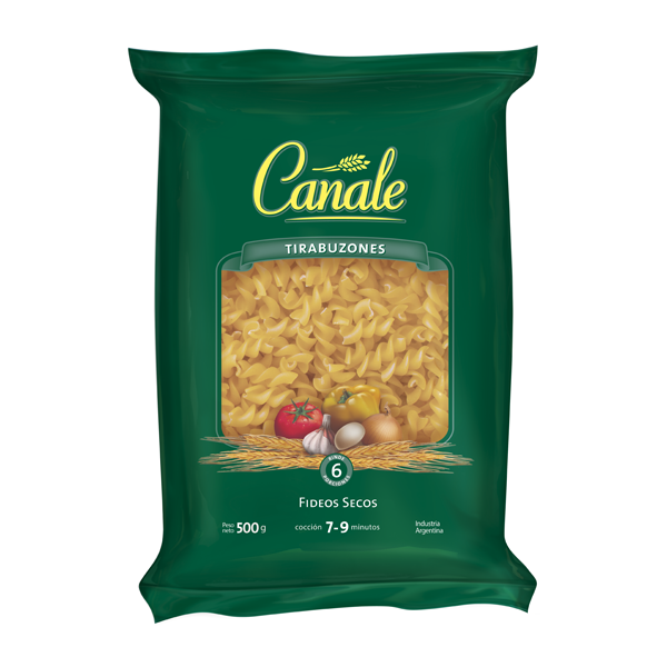 FIDEOS CANALE TIRABUZON 500GR