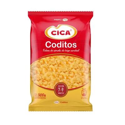 FIDEOS CICA CODITOS 500GR