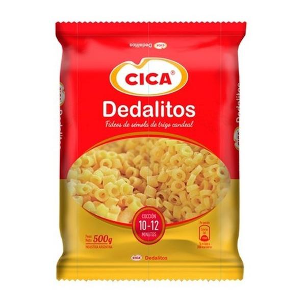 FIDEOS CICA DEDALITOS 500GR