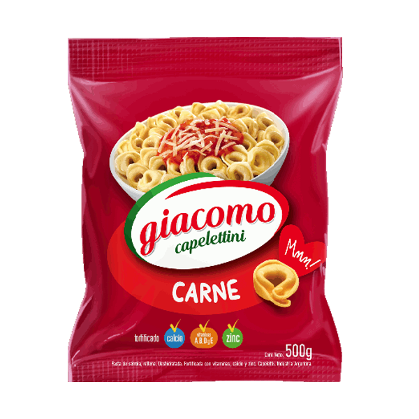 CAPELETINI GIACOMO CARNE 500GR