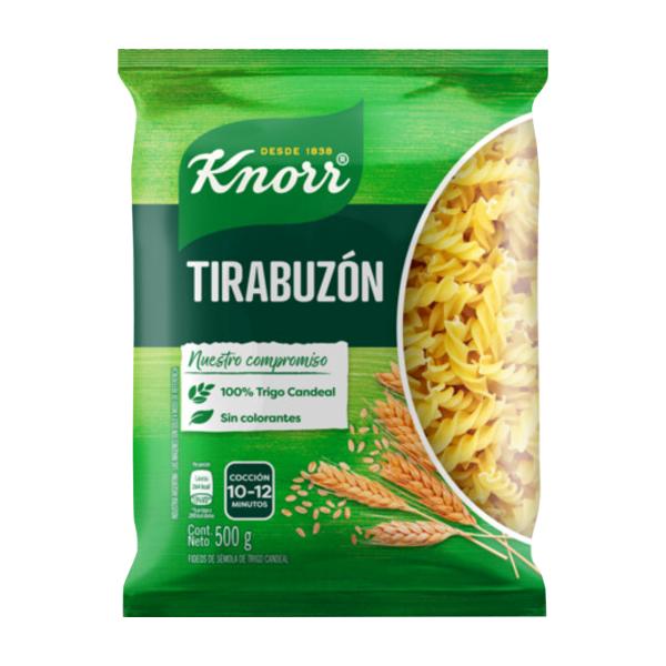 FIDEOS KNORR TIRABUZON 500GR