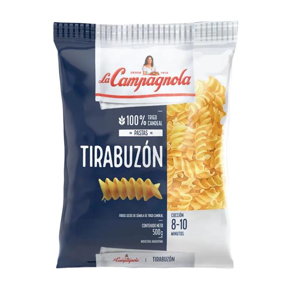 FIDEOS LA CAMPAGNOLA TIRABUZON 500GR