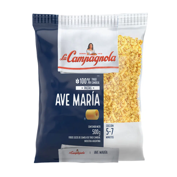 FIDEOS LA CAMPAGNOLA AVE MARIA 500GR