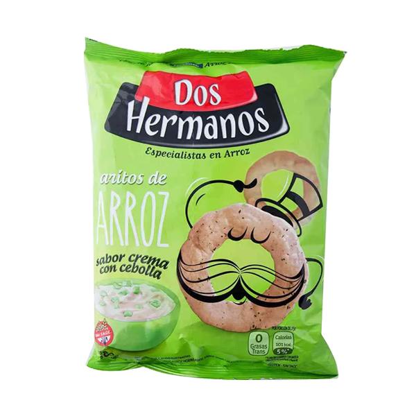 ARITOS ARROZ DOS HERMANOS CR CEB 80GR
