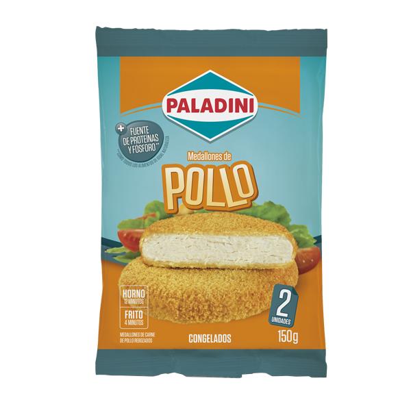 MEDALLONES DE POLLO PALADINI 2U