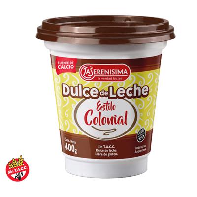 DULCE DE LECHE LS COLONIAL 400GR