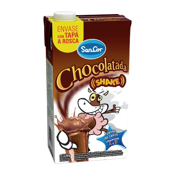 LECHE CHOCOLATADA SANCOR UAT SHAKE 1L