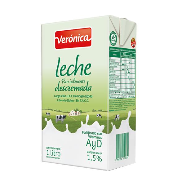 LECHE VERONICA UAT DESCREMADA 1L